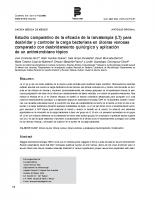 Gaceta Médica de México – Larvaterapia en Úlceras Venosas