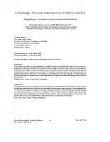 Universidad Complutense de Madrid – Evidencia científica Larvaterapia