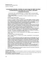 Universidad del Quindio – Larvaterapia aplicada a heridas